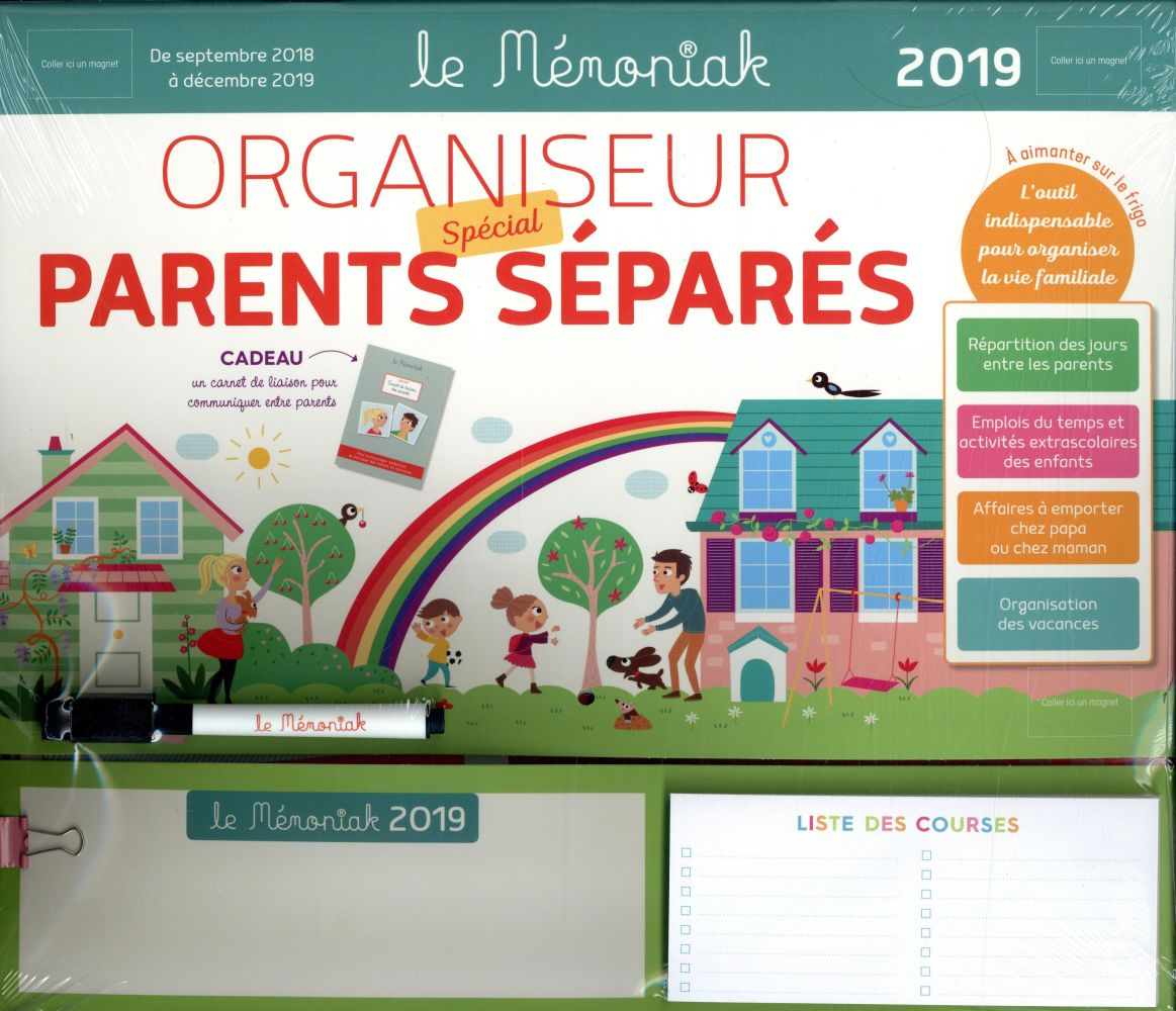 ORGANISEUR PARENTS SEPARES MEMONIAK 2018-2019